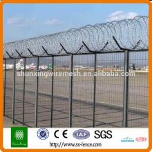Clôture de la barrière