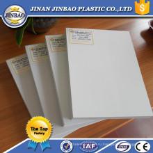 экструдированный толщиной 16 мм ПВХ пластиковый лист
