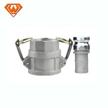 acoplamento rápido hidráulico do parafuso de aço inoxidável