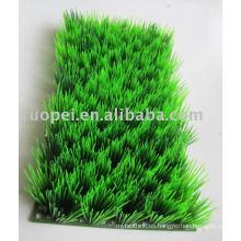 Césped artificial plástico para la decoración del hogar