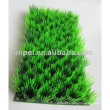 Plastic Artificial Lawn For Home Decoration
