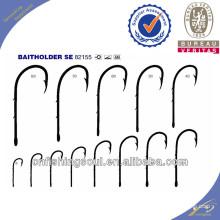 FSH030 82155 High carbon steel fishing hooks baitholder fishing hooks