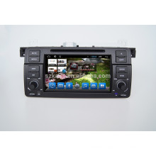 1 din 7'' Android car DVD player Navigator for BMW E46 with radio
