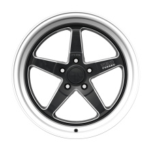 5-SPOKE Aluminium Truck Wheel 6x139.7 Black Milled