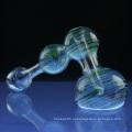 Стеклянный большой молот-пузырь для курения с 3 цветами (ES-HP-067)