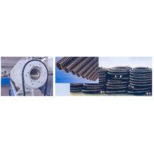 Espiral de carbono PE refuerza tubería extrusión línea 2
