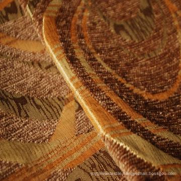 Chenille Geometric Design Fabric for Sofa