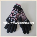 women's knitted touching screen Gloves