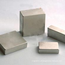 Ímã personalizado do quadrado do bloco de AlNiCo