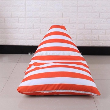 triangle bean bag skin children bean bag chair