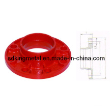 FM/UL List Ductile Iron 250psi Adaptor Flange