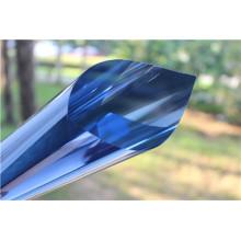 Metallized Carbon Film Double Blue for Building