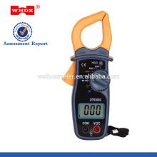 Pinza amperimétrica digital DT9300C con retención de datos del zumbador de continuidad de temperatura