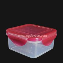 Contenedor de comida de plástico de caja cuadrada de caja de almacenamiento de 11 oz