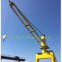 Мобильный портовый кран 20Т30М для подъема грузов