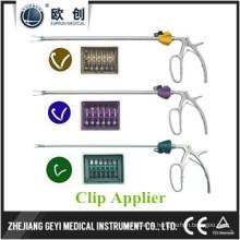 Laparoskopische XL Gelbe Hemolok Clip Applier Zange