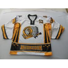 Sublimación Impresión Práctica Hockey Hielo Jersey