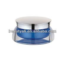 scallop acrylic cosmetic cream jar