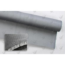 Gray Colour Silcion Coated Fiberglass Cloth Double Sides