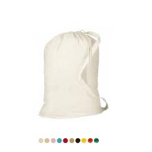 Wholesale Extra Large Heavy Duty Print Drawstring Tote Wash Garment Storage Cotton Canvas Laundry Bag