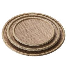 Mélamine en bois comme la plaque / plaque de bambou / plat de dîner (NK13811-14)