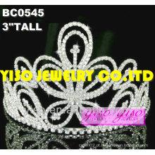 Tiaras e coroas de diamantes de flores