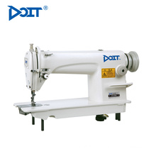 DT 8700 High speed automatically adjustable second hand single needle lockstitch sewing machine
