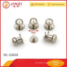 zinc alloy handbags ball studs rivets for bag decoration