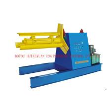Dérouleur en acier automatique hydraulique Chine Machine fabricant