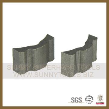 2015! Sunny Diamond Turbo Core Drill Segment for Reinforced Concrete