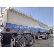 3 axles Hydrochloric Acid Solution Tanker Trailer