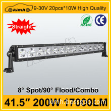 Headlight Type and 10-30v Voltage 41.5'' 200W adjustable led bar