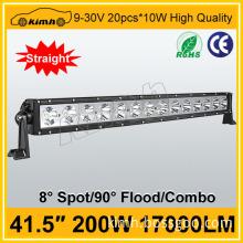 Headlight Type and 10-30v Voltage 41.5'' 200W adjustable led bar
