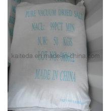 Granulométrie blanche industrielle Sel Pdv (sel pur sec sous vide)