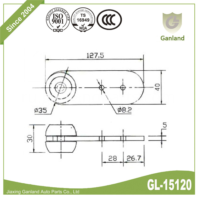 Curtain Rollers gl-15120