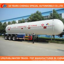 3 Axles 20000liters~120000liters LPG Tank Semi-Trailer