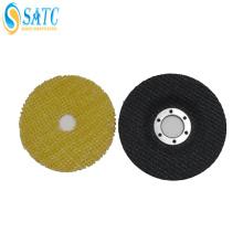 SATC fibra de vidro de apoio abrasivo flap rodas