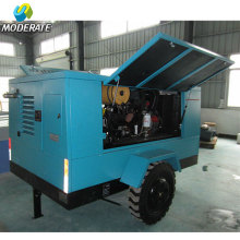 Movable Diesel Screw Air Compressor