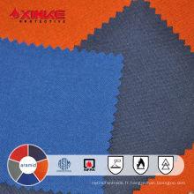 Tissu aramide FR pour les costumes