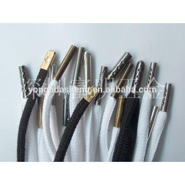 Puntas de latón de metal de zapato. Shoelace accessories.custom shoelace tips para la venta