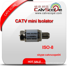 5-1000MHz CATV High Voltage Ground Mini Isolator/DC Block