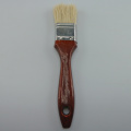 Murah White hog Bristle Wooden Handle paint Brushes