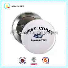 Fashion custom tin badge for promotion