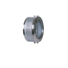 Dual duo way spring loaded check valve