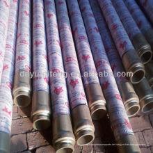 DN125 4 Drahtschichten 85Bar schwing betonpumpe hydraulischen gummischlauch
