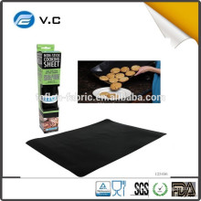 Custom size AM16EC Hot sale non-stick fiberglass bbq cooking mat high temperature bbq grill mat