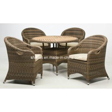 Outdoor Rattan Patio Wicker Garden Furniture Dining Set