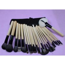 Compo a escova para cosméticos com o saco da escova da composição