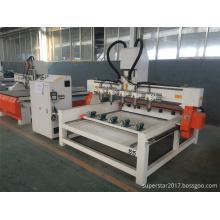 cnc multi kopf runde stuhl beine holzbearbeitungsmaschine
