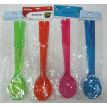 2pc salad spoon and fork